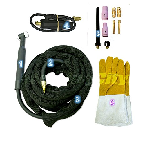 tig torch complete package - 9