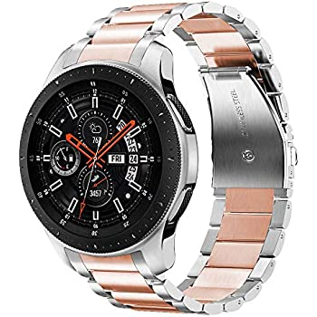 Amazon.com: Shangpule Compatible Gear S3 Bands, Galaxy Watch ...