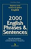 2000 English Phrases & Sentences