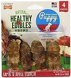 Nylabone Healthy Edibles Puppy Natural Long Lasting Dog Chew Treats 4 Count Regular - Up to 25