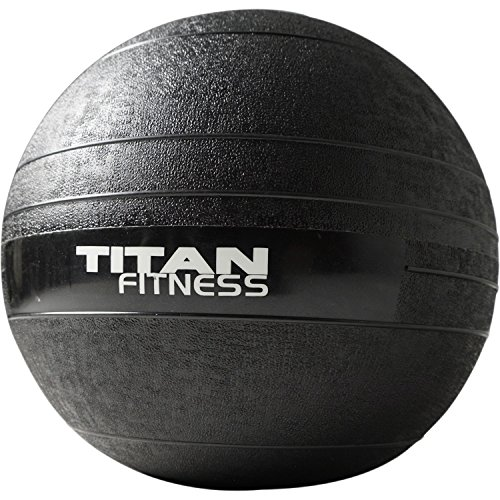 Titan Fitness 20 lb Slam Spike Ball Rubber Exercise Weight Crossfit Workout