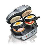 Hamilton-Beach 25490C Dual Breakfast Sandwich Maker