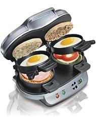 Hamilton Beach 25490A Dual Breakfast Sandwich Maker