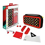 PDP Nintendo Switch Super Mario Brothers Starter Kit with Travel Case, Screen Protector, Joy Con Guards and Earbuds, 500-031