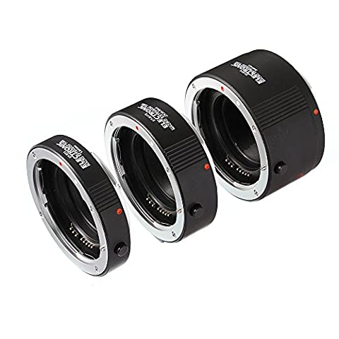 Fotga Macro AF Auto Focus Automatic 13mm 20mm 36mm Extension Tube Set DG for Canon (Kenko Auto Tubo Di Prolunga)