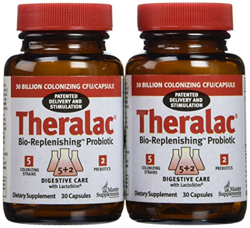 Master Supplements Theralac Bottles Count product image