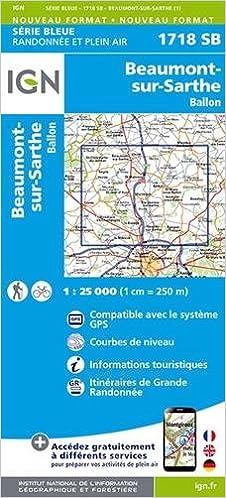 Télécharger en ligne Beaumont-sur-Sarthe/Ballon : 1718sb pdf ebook