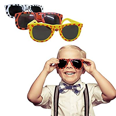 Dazzling Toys Animal Print Safari Assorted Sunglasses Pack of 24, Leopard Tiger and Zebra Styles, Assorted Animal Colors.: Toys & Games