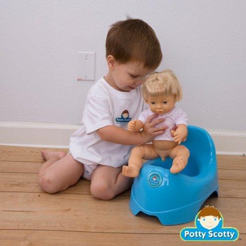 Potty Scotty Kit - Boy Potty Training Doll, Book & DVD