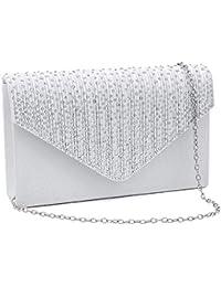 eeff62bcff4 Clutch Purses for Women evening Glitter Wedding Purse Crystal Envelope  Clutches Shoulder Bags