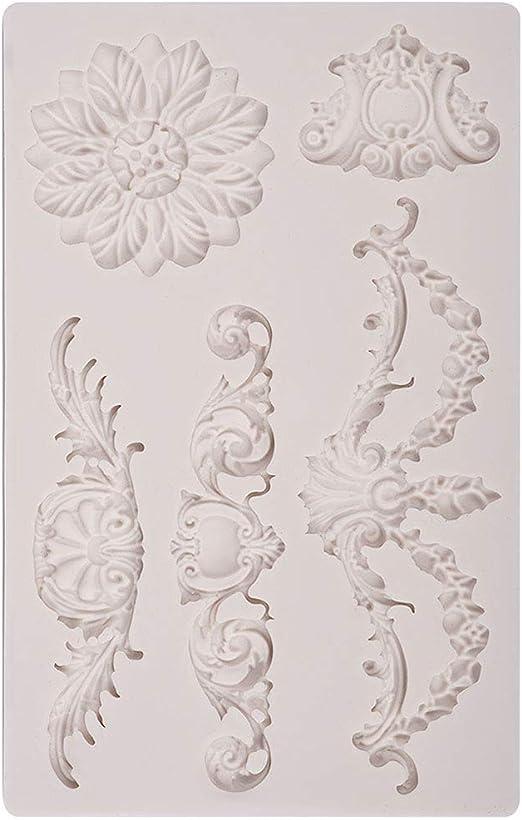 Amazon.com: Prokitzen - Molde de silicona para decoración de ...