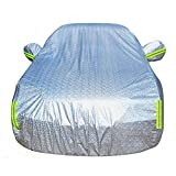 Car Cover,CHELIYA Universal Waterproof Windproof Dustproof Scratch Resistant Car Cover Sun Outdoor UV Protection Full Car Cover For SUV Car 204.7