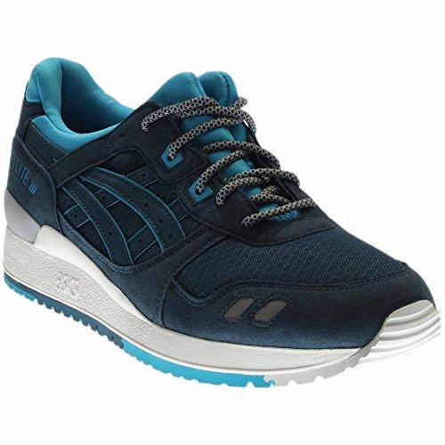 Cheap ASICS Gel-Lyte III Retro Running Shoe, Legion Blue/Legion Blue, 10 B(M) US