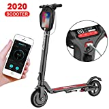 Electric Scooter For Adults -8.5 Inch 25.7 km Long-Range,350W Dual Motor,Up To 25km/h, Ultra-Lightweight and Double Security E scooters Commuting for Aduls&Teenager(US Version With Warranty)