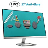 "(2 PACK) 27 Inch Anti Glare Screen Protector for 27"" Widescreen Monitor Display 16:9/Matte Screen Guard (Size: 23.43 inch13.15 inch)"