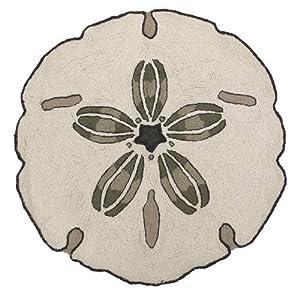 Amazon Com Sand Dollar Seashell Shape Area Accent Bath