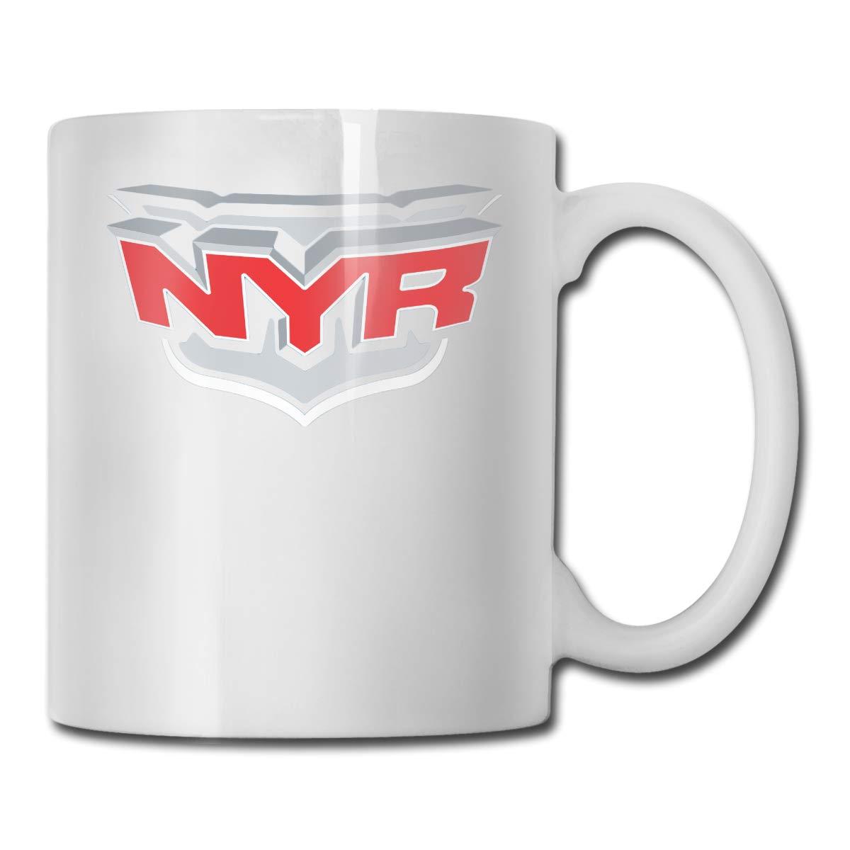 White One Size Office Coffee Cup MajseticNewYorkRangersLogo Geblackus 14.72 OZ Capacity Mug is Perfect for CoffeeWhite