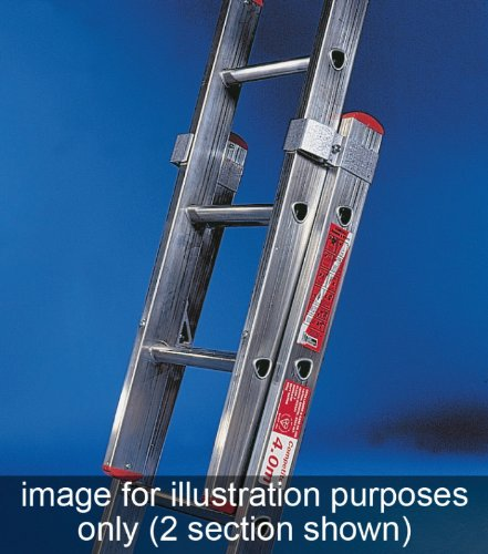 Titan Competitor DIY Double Extension Ladder 6m Extended COM34D