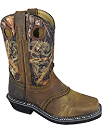 Smoky Mountain Boys' Pawnee Western Boot Square Toe - 3350C