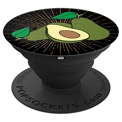 Sunburst Avocado Graphic - PopSockets Grip and Stand for Phones and Tablets