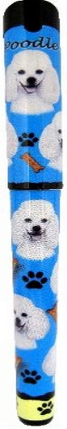 E&S Pets Poodle Pen Easy Glide Gel Pen, Refillable with A Perfect Grip, Great for Everyday Use, Perfect Poodle Gifts for Any Occasion