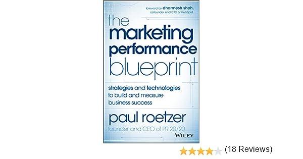 Amazon.com: The Marketing Performance Blueprint: Strategies and ...