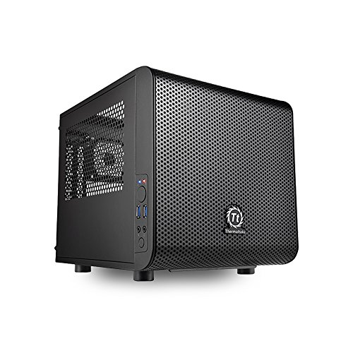 VR Ready Mini Gaming PC w/ Intel i7-7700, 16GB, 256GB NVMe M.2 SSD,2TB HDD, GTX 1080 TI, Win 10 home, CV1 - Configured and Assembled by MITXPC by MITXPC (Image #1)