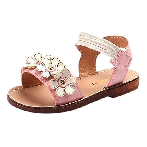 Baby Kids Floral Princess Unisex Beach Schuhe Blume Qinmm 08nkPwO