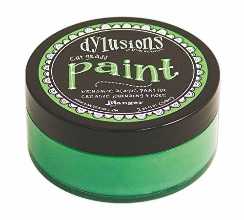 Ranger DYP-45977 Dyan Reaveley's Cut Grass Dylusions Paint, 2 oz, Green