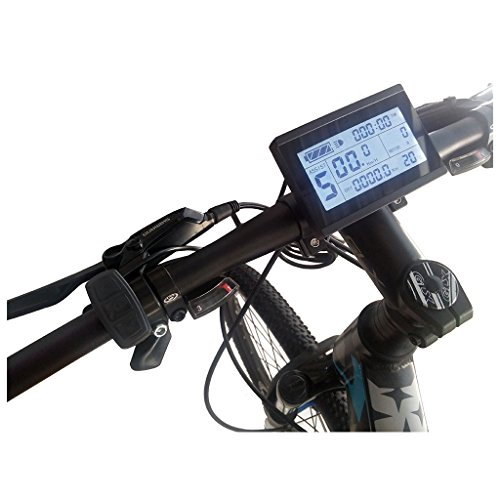 ZOOMPOWER 24v 36v 48v intelligent kt lcd lcd3 ktlcd3 control panel display electric bicycle bike parts kt controller by ZOOMPOWER (Image #5)