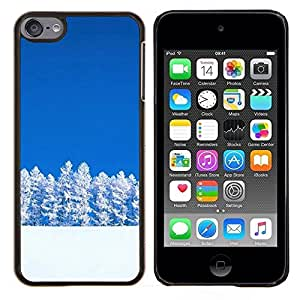 Jordan Colourful Shop - Jiuzhaigou Sichuan China For Apple iPod Touch 6 6th Generation Personalizado negro cubierta de la caja de pl????stico