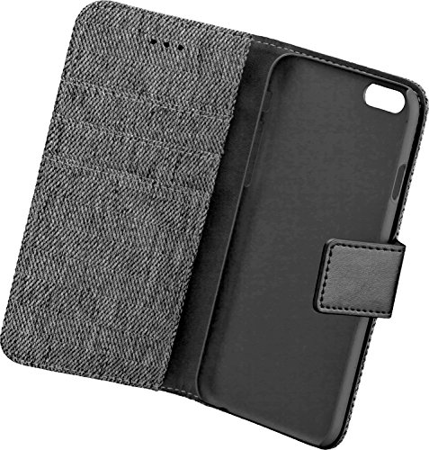 BOOK CASE DRESS GREY Apple iPhone 6/ 6S