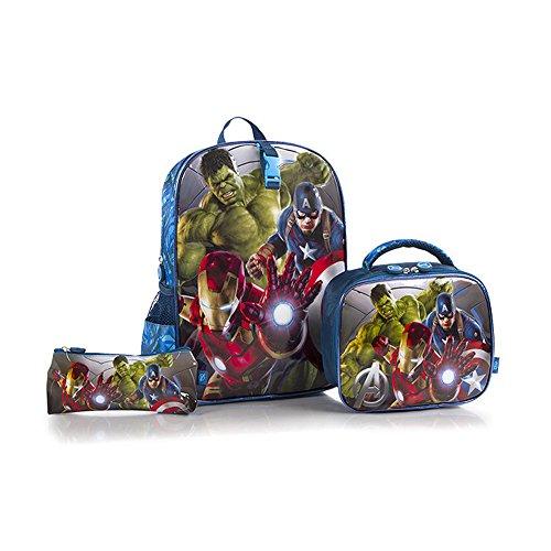 Heys Marvel The Avengers Deluxe 3-Piece Backpack Set