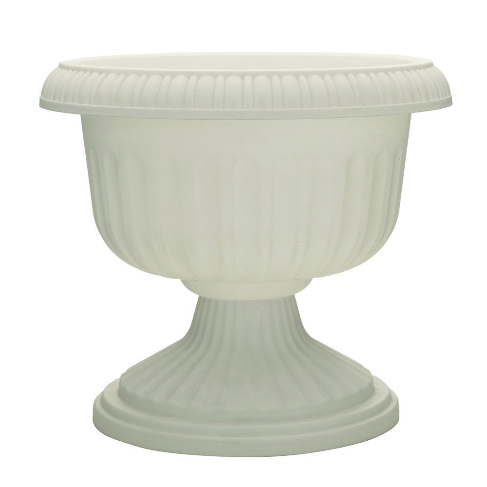 Att Southern UR1212WH 12-Inch White Grecian Urn Planter - Quantity 3 by ATT SOUTHERN