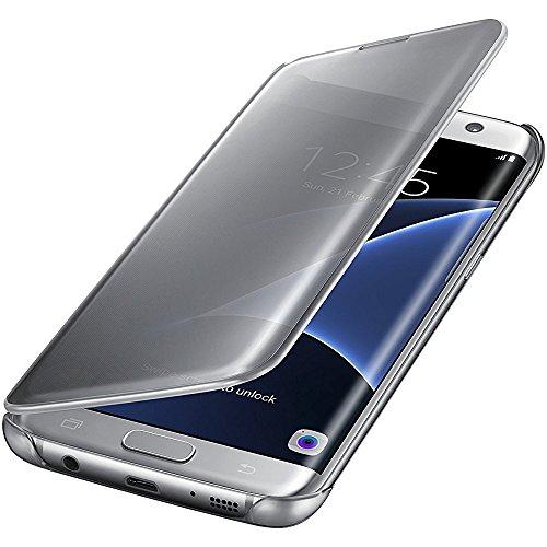 Flyeri Samsung Galaxy S6 edge Case, Mirror Smart Clear View Window Flip Case Cover For Samsung Galaxy S6 edge (4)