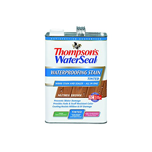 thompsons-th071831-16-waterseal-waterproofer-plus-wood-stain-tinted-1-gallon-nutmeg-brown