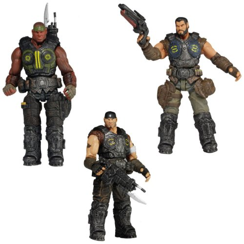 Gears of War (Series 2) 3.75 Inch Figure Set of 3