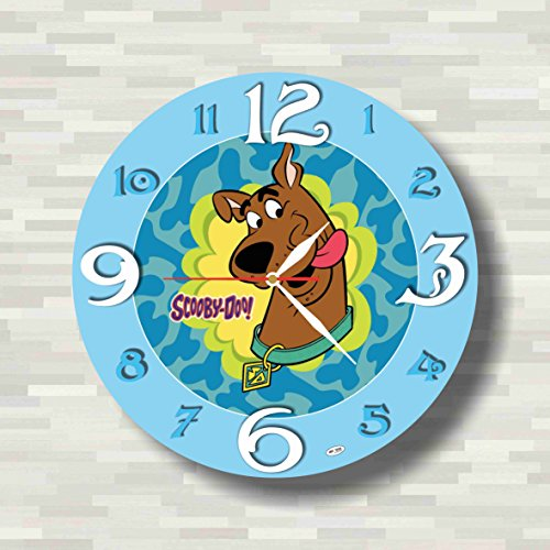 Cogsworth Costumes To (Scooby Doo 11.8'' Handmade unique Wall Clock - Get unique décor for home or office – Best gift ideas for kids, friends, parents)