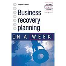 Business Recovery Planning in a Week