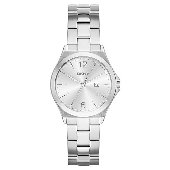 DKNY - Reloj de Pulsera Digital Cuarzo Acero Inoxidable ny2365: Amazon.es: Relojes