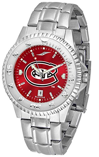 Linkswalker Mens Saint Cloud State Huskies Competitor Steel Anochrome Watch