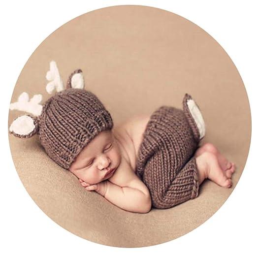 Fengbingl-cl Ropa de la fotografía del bebé Unisex recién ...