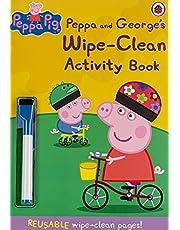 Peppa Pig: Peppa and George's Wipe-Clean Activity Book