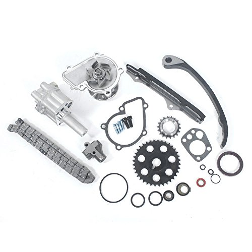 New Timing Chain Kit with Oil & Water Pump for 1989-1997 Nissan Pickup D21 240SX 2.4L L4 SOHC KA24E