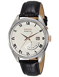 Seiko Mens KINETIC Analog Business Watch (Imported) SRN073P1