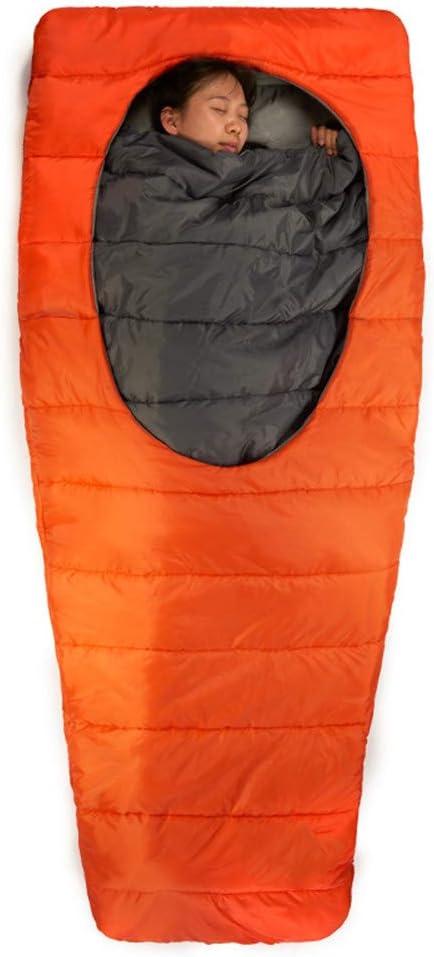 W Sac De Couchage Ultra-L/éger Sac en Coton Lazy pour La Randonn/ée Camping Traveling