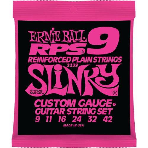 Nickel Wound Set - Ernie Ball RPS-9 Slinky Nickel Wound Set, .009 - .042