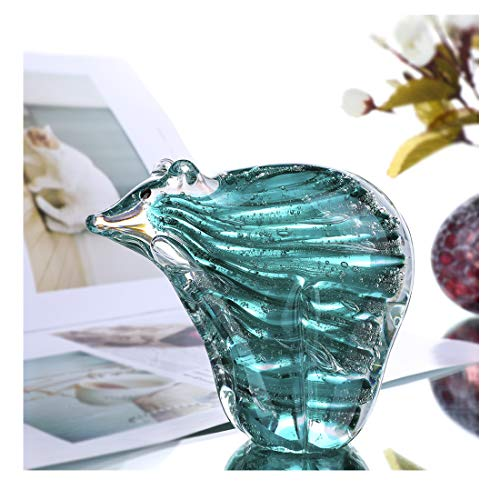 Crystalsuncatcher Hand Blown Art Glass Sculpture Home Decor Paper Weight Gift for ()