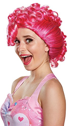 Disguise Women's Pinkie Pie Movie Adult Wig, Pink, One Size