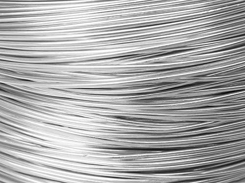 5 M/ètres Fil Aluminium Argent 1mm Oasis /®